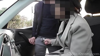 dogging my wife in public car parking and emily wickersham nude jerks off an voyeur after work - misscreamy