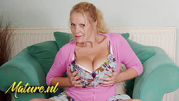 horny british milf loves lena paul nude playing with her huge natural tits