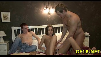 cute hottie spreads legs wide reftube open and feels how fat cock