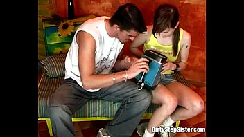 beautiful stepsister falls layla london naked to her creepy steprbother