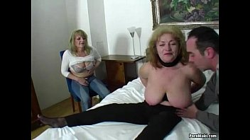 lucky guy creampied fucks two amazing grannies