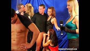 sexy party chicks suck dicks in atkgals club orgy