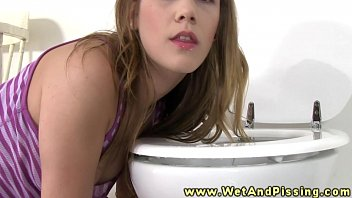 licking piss of russian family nudist the toiler seat