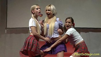 hot lesbian orgy yessxxx on public stage