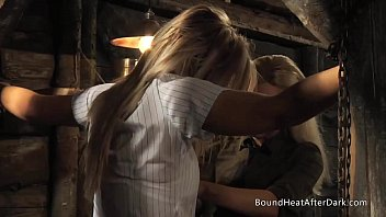 chained schoolgirl moves born sex groped by lesbian madame