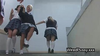 femdom bdsm action with three emo nudes lesbians and electro shocking