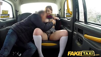 fake taxi sexy redhead cherie deville nude hot taxi suck and fuck on a snowy day