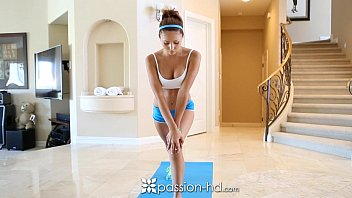 ariana marie sexvidieo comes home to fuck after a morning jog - passion-hd