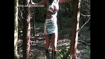naked girl band slave gets hit with a whip by horney dominatrix 124