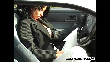amateur mom with big tits sucks and american blue film fucks in her car