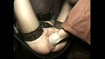 hot slave with her legs spread gets her wet pussy gamergirl porn fucked by guy with his hands and hit with whip