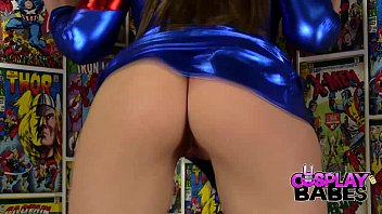 cosplay babes spider woman cums xv8deos in comic store