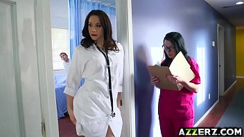hot doctor chanel 3some fuck xnxxporn at the hospital