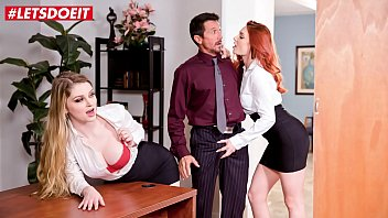 letsdoeit - pornoload shows us what you got boss nobody will know bunny colby and lacy lennon