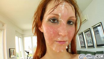 cum for cover redheads drenched in cum pprnhub after 5 cock deepthroat