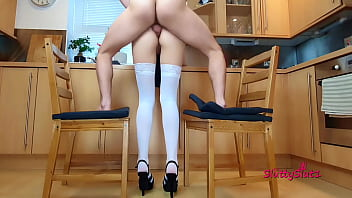 hot anal yespornples in the kitchen standing fuck