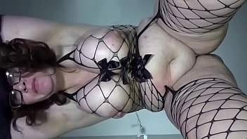 bbw huge tit wife fucked and creampied view from below huge ero lust swinging tits and dripping creampie