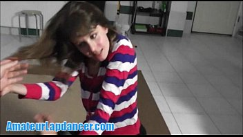 pornhh lapdance bj and fingering with cute teen