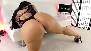 zara go tits pop out - mixed middle eastern model with big ass and titties