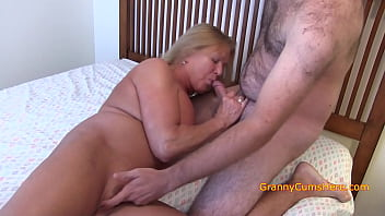 nude cougars granny chooses a cock