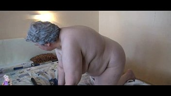 old busty granny playing with sexvdeo skinny girl