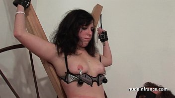 young movies 4me cc french brunette hard sodomized fisted and corrected in bdsm game