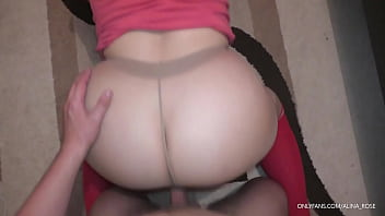 step brother orgasm girl tumblr fuck his sister pussyjob and assjob in nylon pantyhose