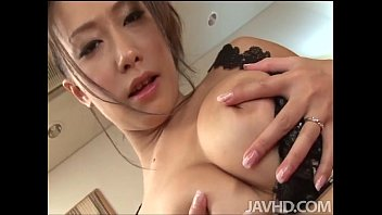 yayoi yanagida in a lacey bra plays www sexy wap com with her big tits for her fuck buddy driving