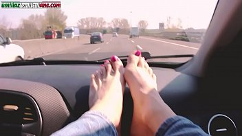 adriana chechik nude traveling with lisa- foot domination
