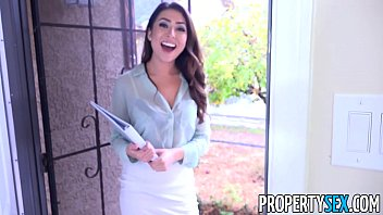 propertysex - sexy young real estate agent uses sophie paris pierre woodman pussy to get client