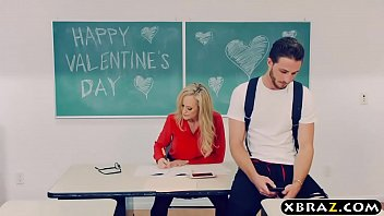 mature red hube teacher brandi love gets with a young student