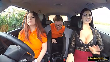 lucia threesome girls getting fucked while asleep during her driving test