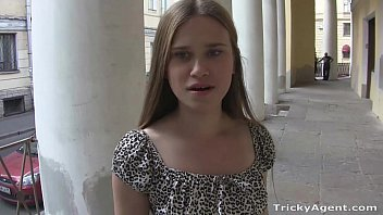 tricky agent - blondy emma with a sexs perfect ass in a tiny dress