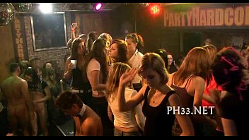 mvporn tons of group sex on dance floor