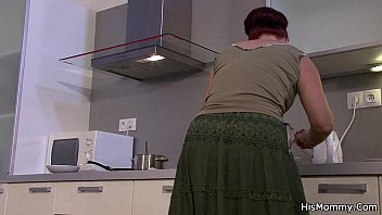 wo4free his mommy and teen go lesbian on kitchen