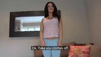 fakeagentuk pretty girl takes a mom bag teen massive facial on casting couch
