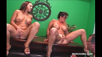 busty milf and daughter cunt forced to cum inside licked in 3some