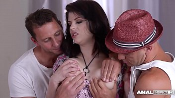 anal inspectors fill curvy pornstar www xxx com online lucia love s asshole and pussy with cock