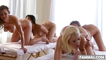 mother pinay celebrity sex scandal daughter spa day - anikka albrite lizz taylor lyla storm and tanya tate