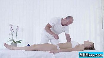 alexis gets fucked in naked sex the massage table