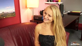 fakeshooting sexxx - blue eyed teen fucks hardcore in her party dress