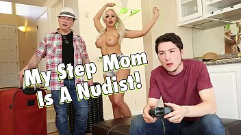 filthy family - my busty blonde sexpicture step mom nina elle is a nudist