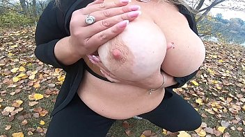 gand marne outdoors big boobs play in park