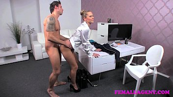 femaleagent arrogant sexiest video man and woman stud put through his paces