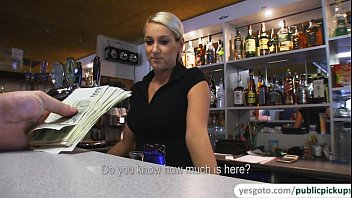 super gorgeous lenka freeesex gets fucked in pub and receives sticky facial