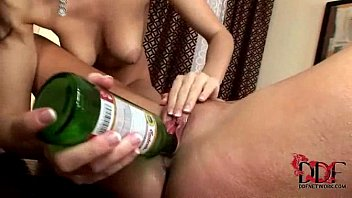 eufrat and ponro jana use beer bottles to pleasure each other