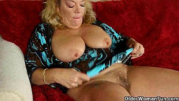 office granny in pantyhose gives her tied up rape porn old pussy a treat