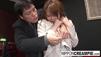 asian office hottie gets brezzer torrent gangbanged by her colleagues