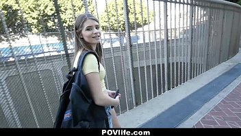 povlife - skinny chick alice march offers bikini model nude pussy for free wifi