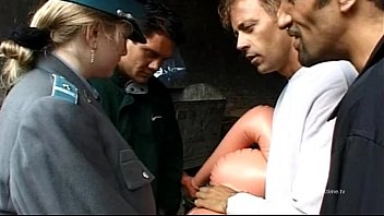hot policewoman banged poirn by rocco siffredi and friends